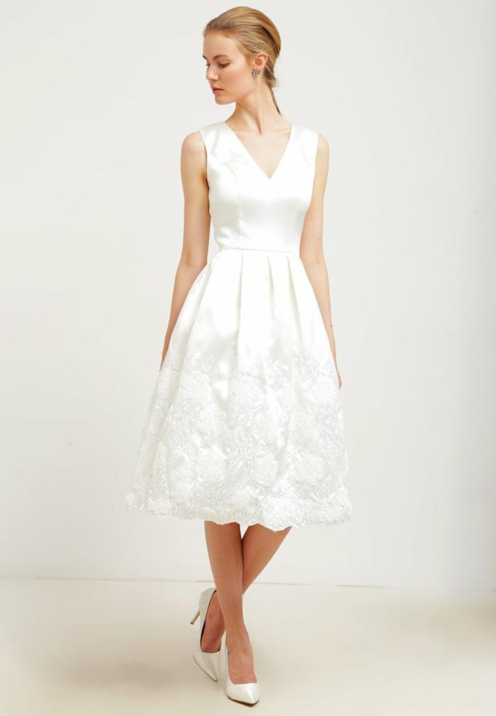weiße klieder weißes kleid zalando damen mode festlich