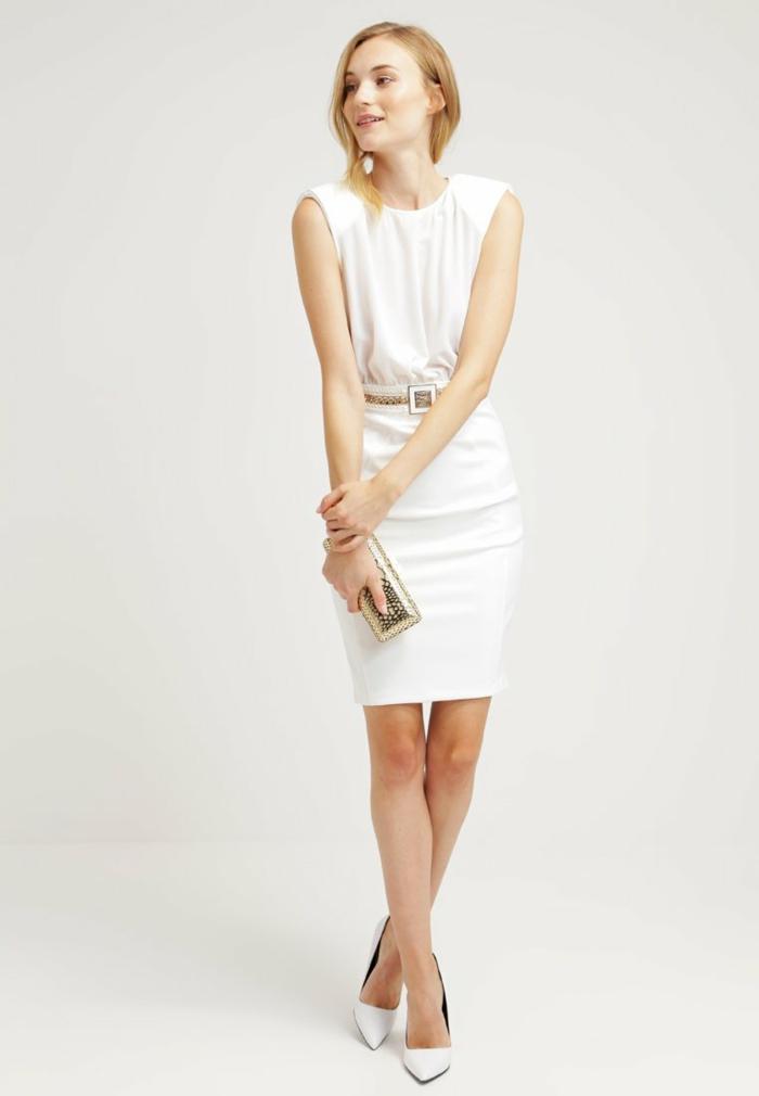 weiße klieder weißes kleid zalando damen mode gescheftlich