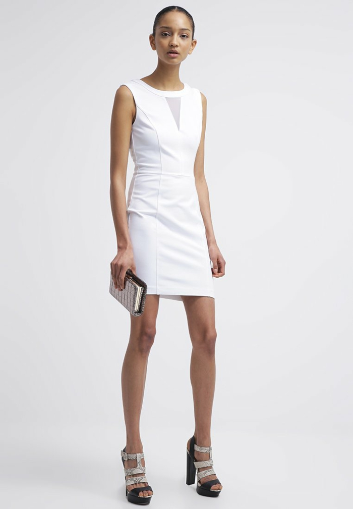 weiße klieder weißes kleid zalando damen mode kurz
