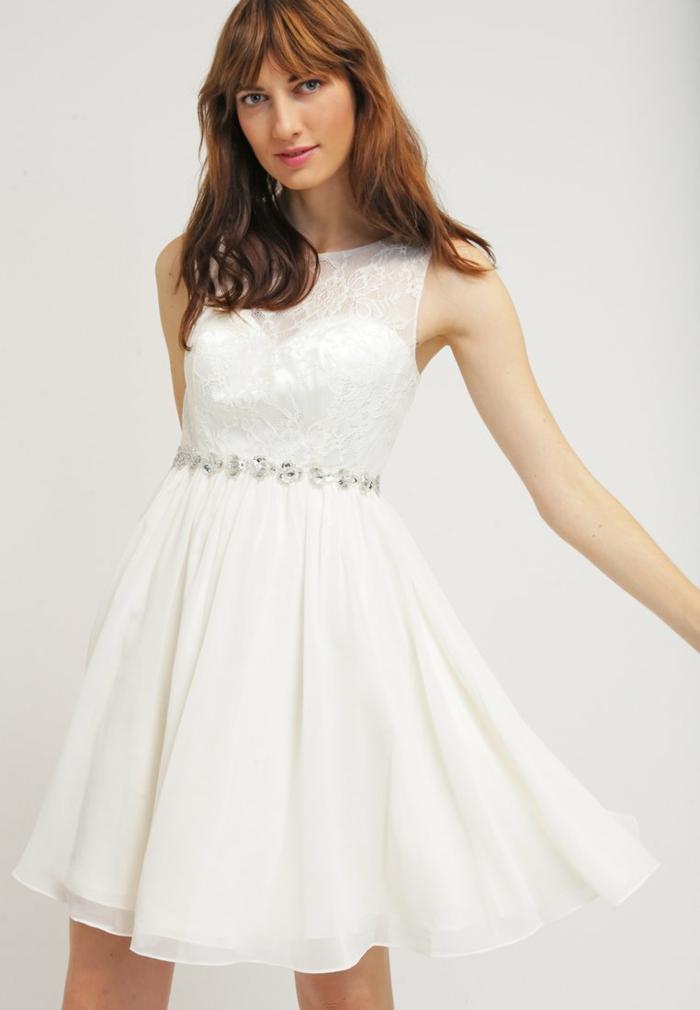 weiße klieder weißes kleid zalando damen mode luftig