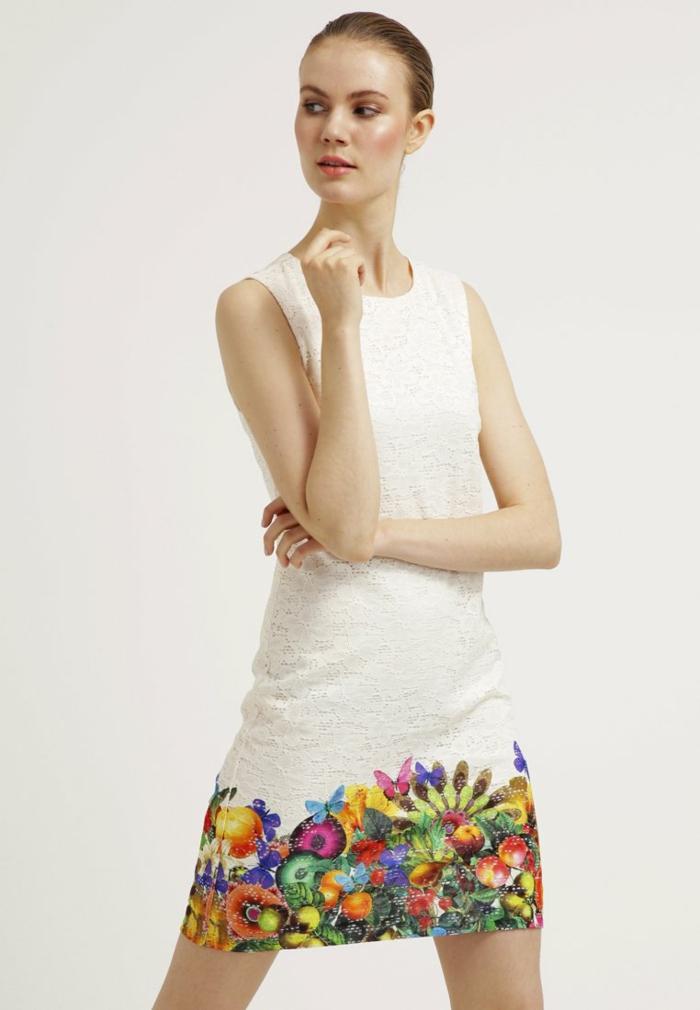 weiße klieder weißes kleid zalando damen mode- omatisch