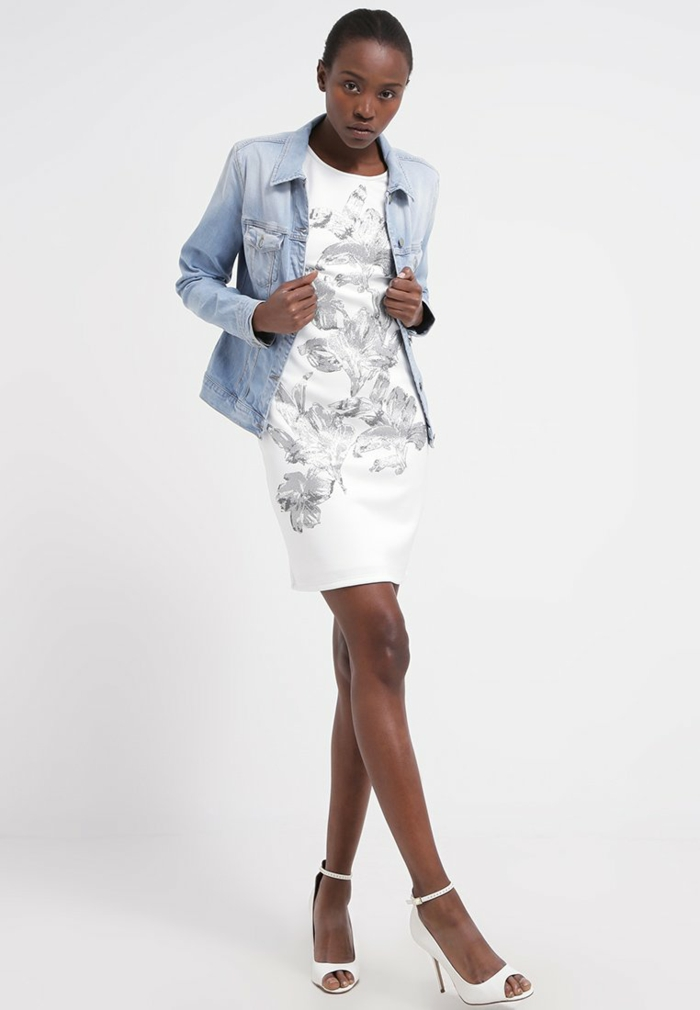 weiße klieder weißes kleid zalando damen mode sommernacht