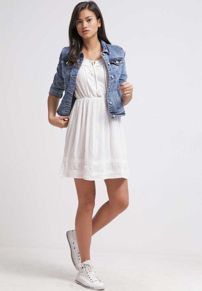 weiße klieder weißes kleid zalando damen mode sportlich urban