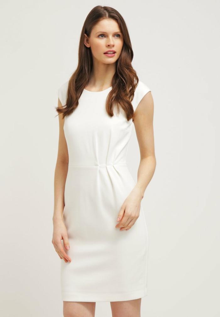 weiße klieder weißes kleid zalando damen mode weiblich