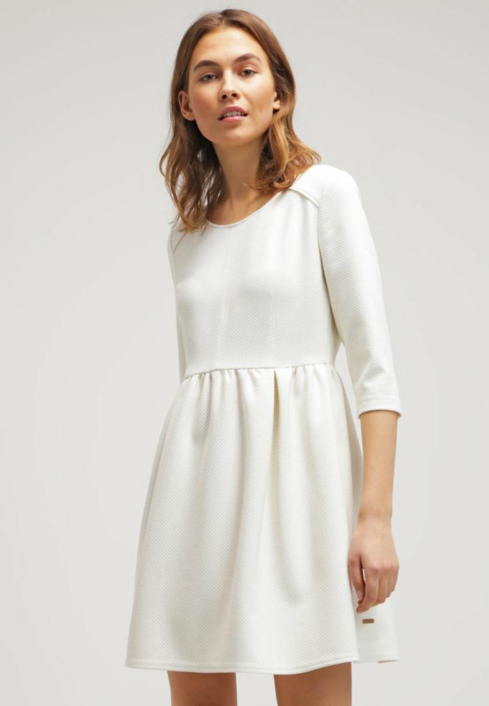 weiße klieder weißes kleid zalando damen mode