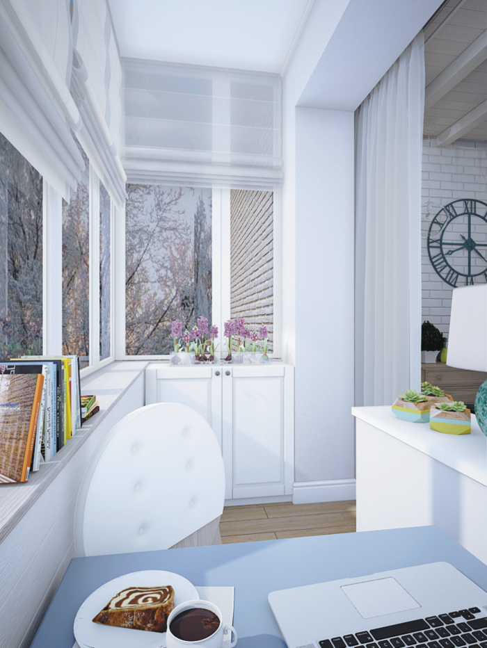 weiße wandfarbe wohnideen küche pflanzen fenster
