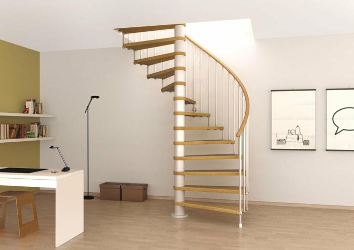 wendeltreppen design kleine innentreppe wendeltrepe homeoffice