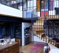 Wendeltreppe für Innen – 109 Innentreppen, welche die Innenarchitektur in Vordergrund bringen