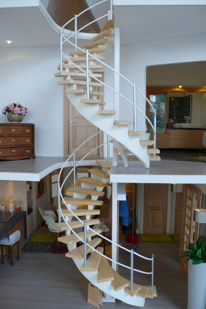 wendeltreppen innetreppen design innenarchitektur ideen