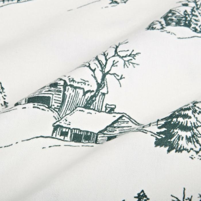 winterbettwäsche biber  winterliche motive biber bettwäsche warme bettwäsche weiche decke