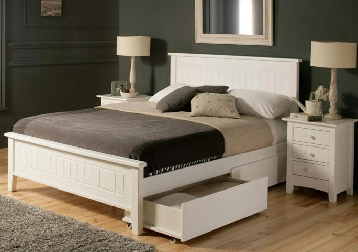 Bett Mit Stauraum - Eine Funktionelle Alternative, Wie Man Ordnung ... Schlafzimmer Bett