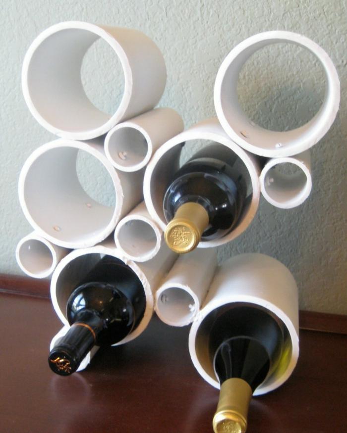50 wohnideen selber machen die dem zuhause individualit t for Weinregal selber machen