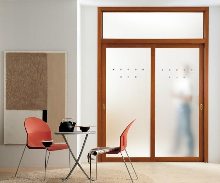 zimmertüren gläsern innendesign ideen praktisch