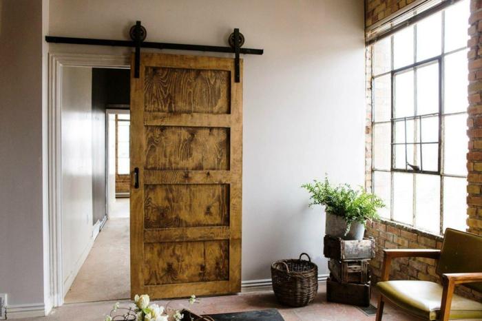zimmertüren rustikale innentür wohnideen innenarchitektur
