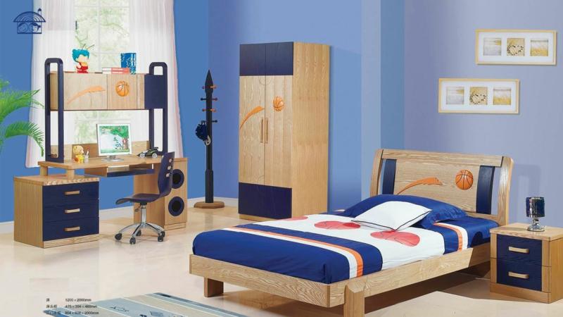 Basketball Jugendzimmer Ideen Jugendzimmermöbel Holz