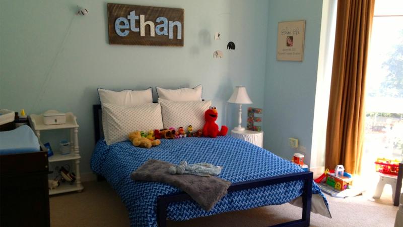 Bilder Kinderzimmer Junge Kinderbettwäsche Blau