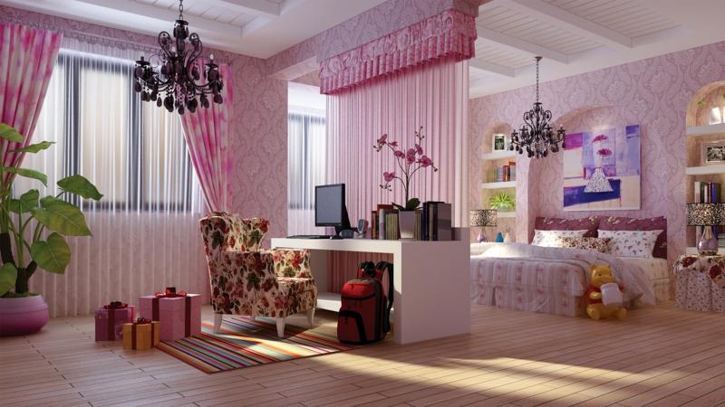 Bilder Kinderzimmer Mädchen Kinderzimmergestaltung Mädchenzimmer Einrichten