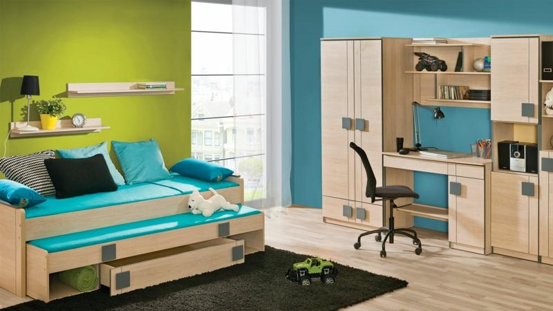 Bilder Kinderzimmer für Jungs Kinderzimmergestaltung Ideen und Beispiele