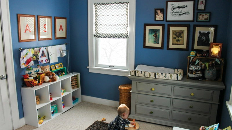 Bilder Kinderzimmer für Jungs Kinderzimmergestaltung Stauraum Ideen