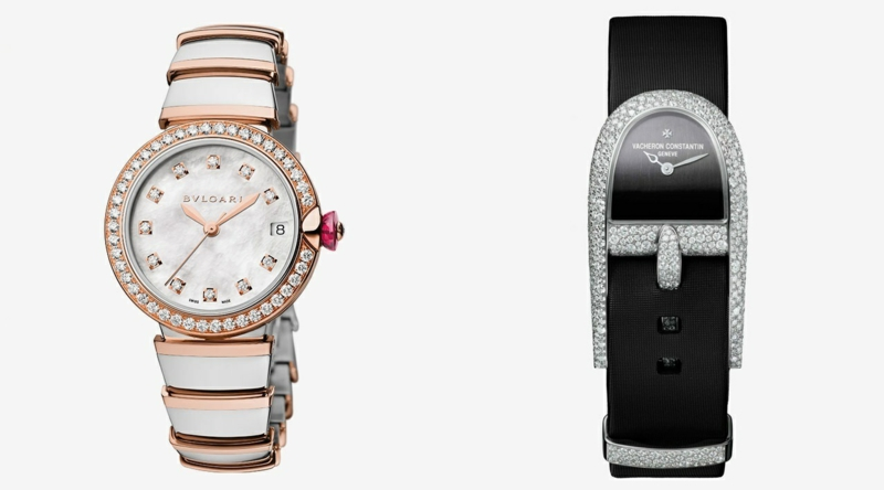 Bulgari Damenuhren elegantes Design Damen Armbanduhr