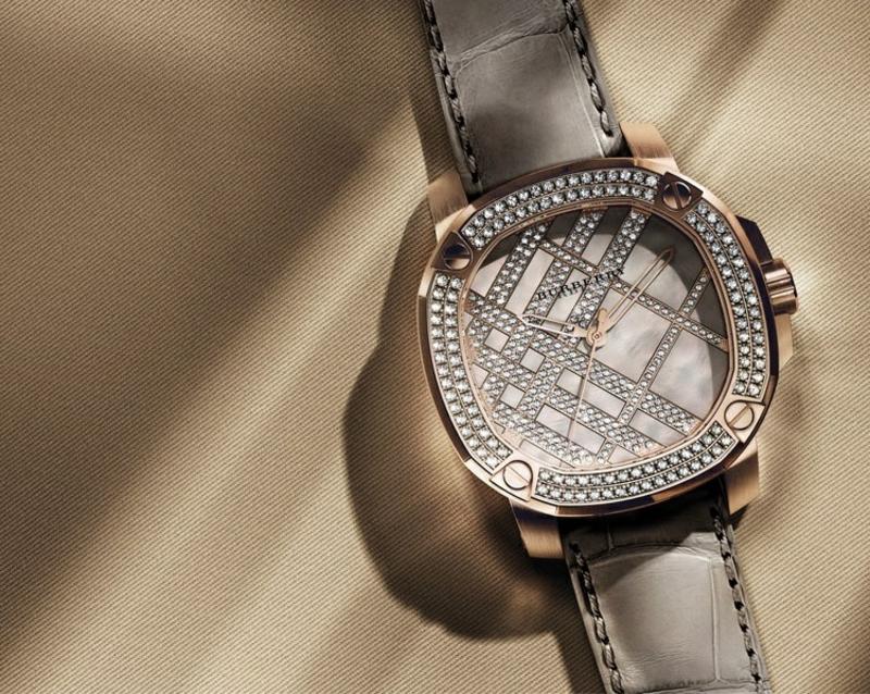 Burberry Damenuhren elegantes Design Damen Armbanduhr
