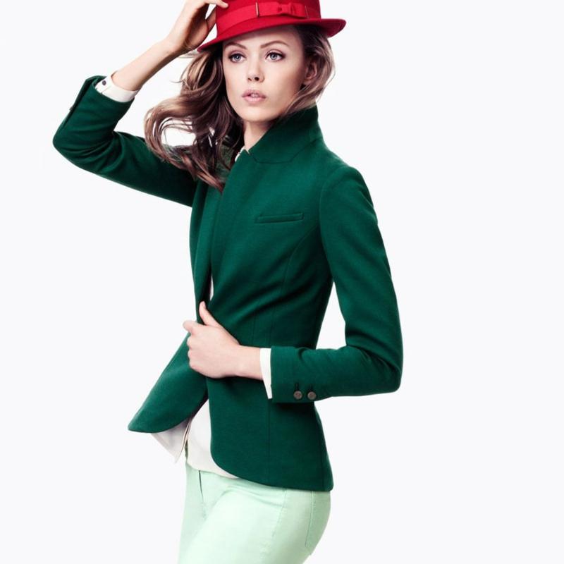 Bussinessmode Damen Sakko grün Damenmode