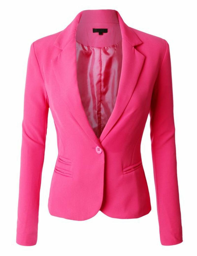 Bussinessmode Damen Sakko pink Damenmode