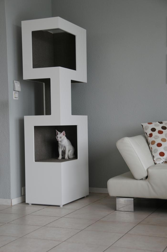 katzenbaum the one cooles design und optimaler komfort. Black Bedroom Furniture Sets. Home Design Ideas