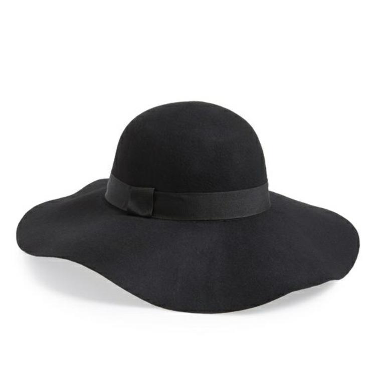 Damenhüte Damenmode und Stylingstipps Filzhut schwarz