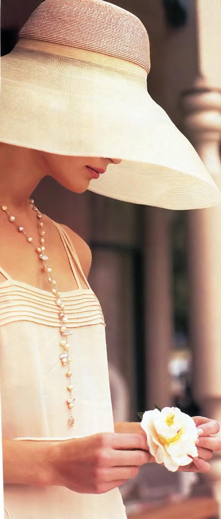 Damenhüte Damenmode und Stylingstipps Retro Damenhut