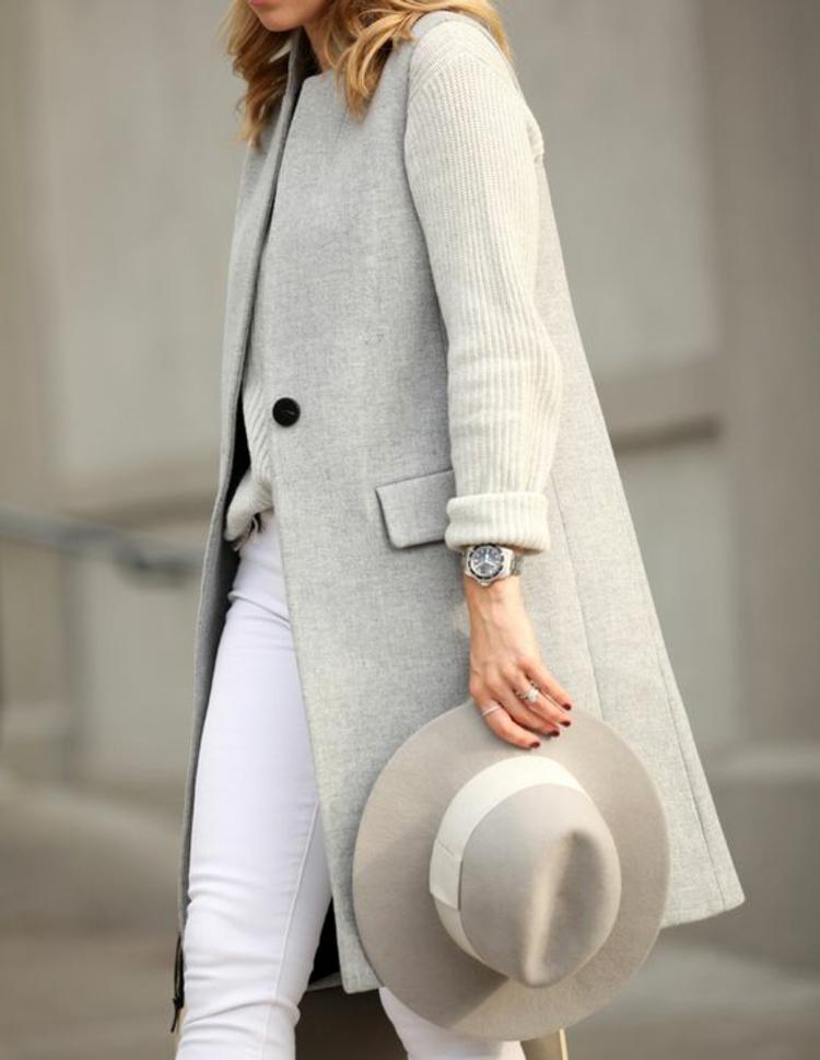 Damenhüte Damenmode und Stylingstipps Wintermode Hut und Mantel