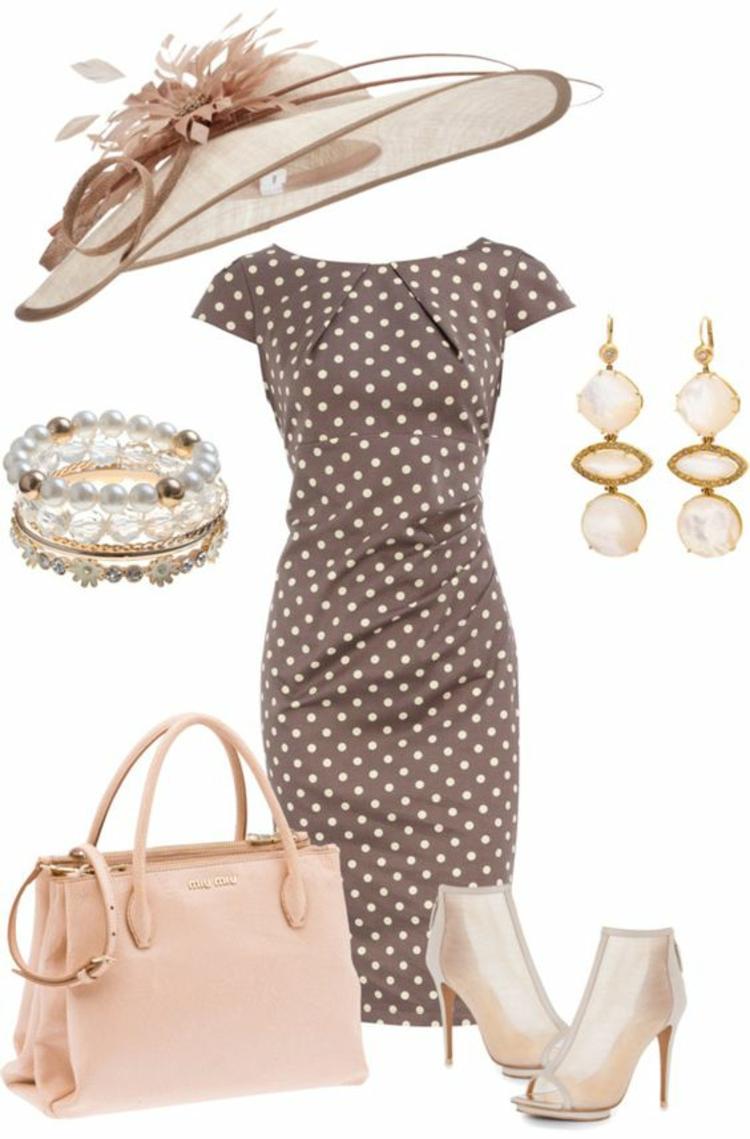 Damenhüte Damenmode und Stylingstipps elegantes Sommeroutfit