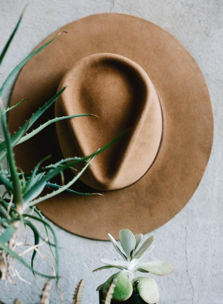 Damenhüte Filzhut braun Damenmode und Stylingstipps