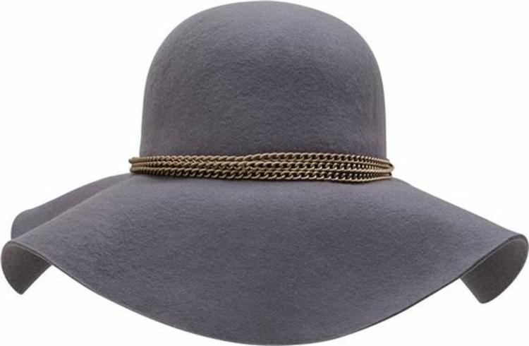 Damenhüte Filzhut grau Damenmode und Stylingstipps