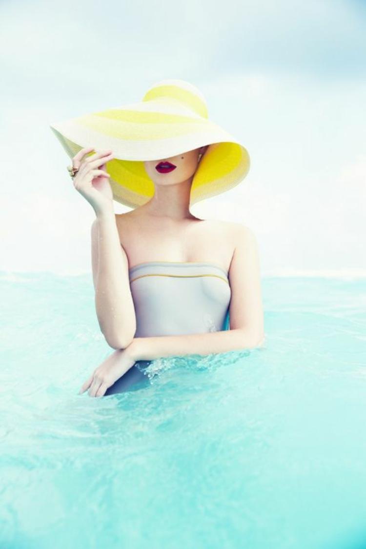 Damenhüte Sommer Damenmode und Stylingstipps Sommerhut