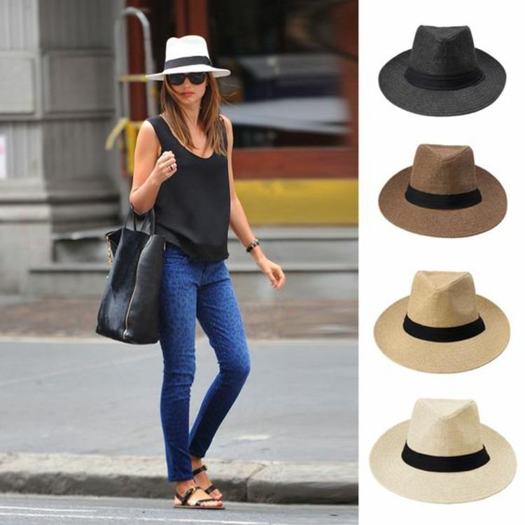 Damenhüte Sommerhut Damen Damenmode und Stylingstipps