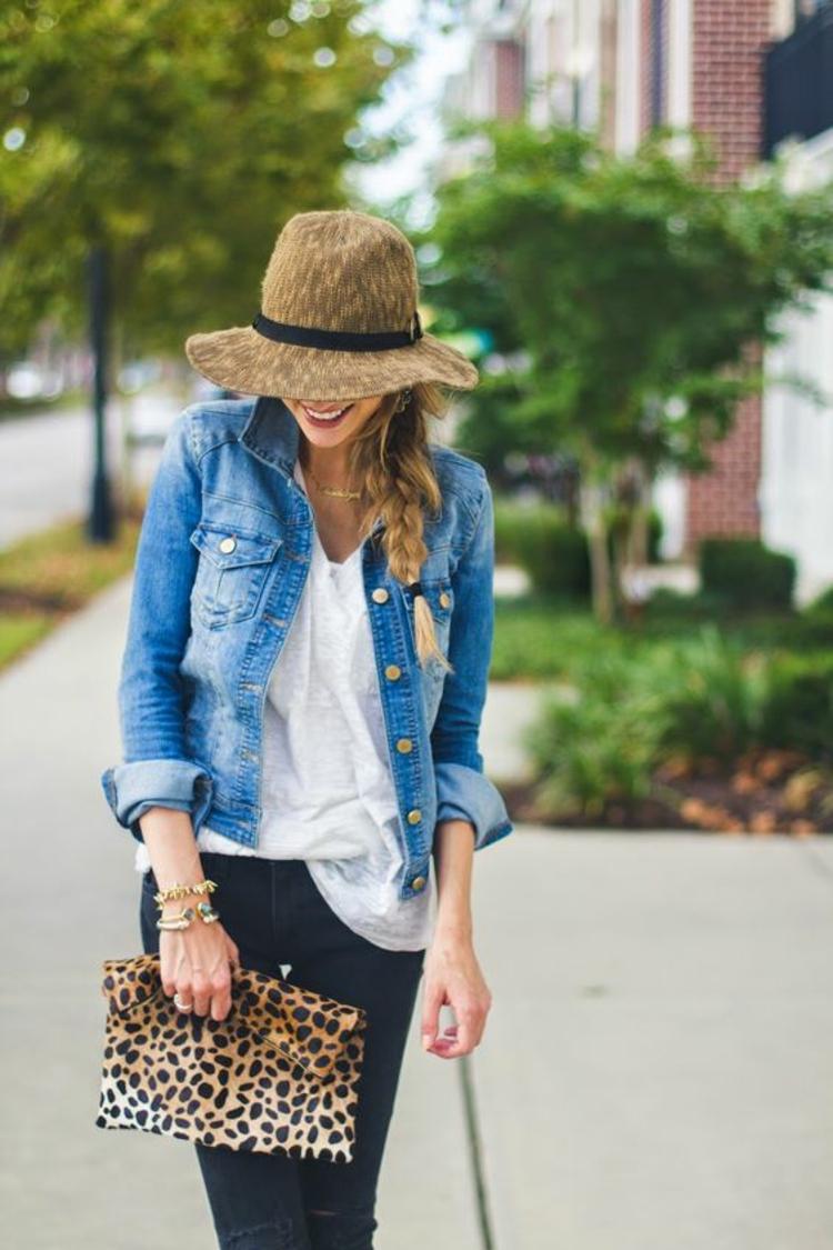 Damenhüte Straßenmode Outfits Bilder und Stylingstipps