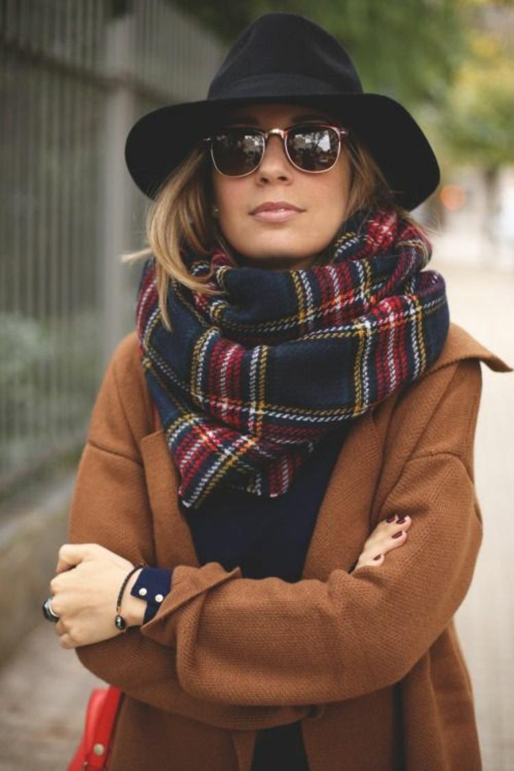 Damenhüte Winter Damenmode und Stylingstipps Filzhut tragen