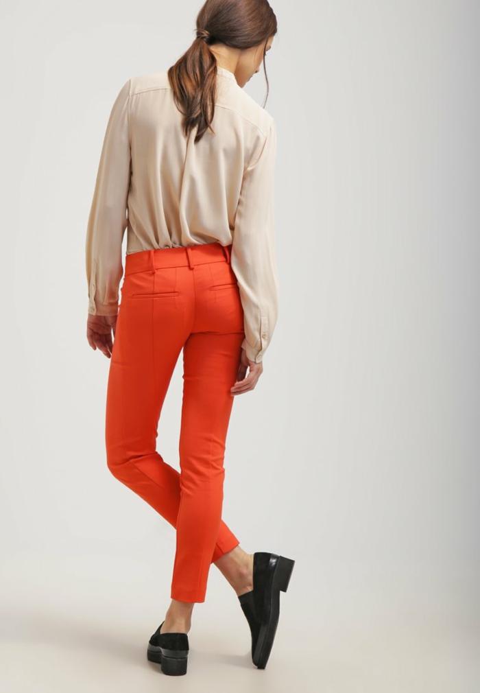 Damenhosen rot modetrends 2016 korale bluse