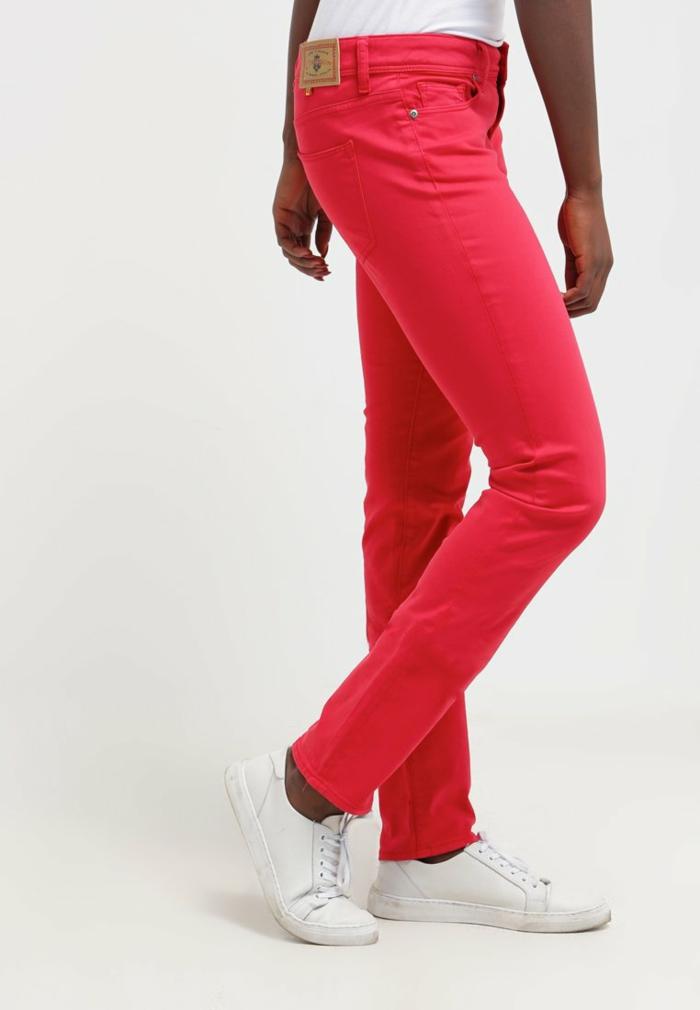 Damenhosen rot modetrends 2016 rot chinno