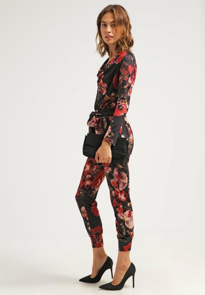 Damenhosen rot modetrends 2016 weinrot rose