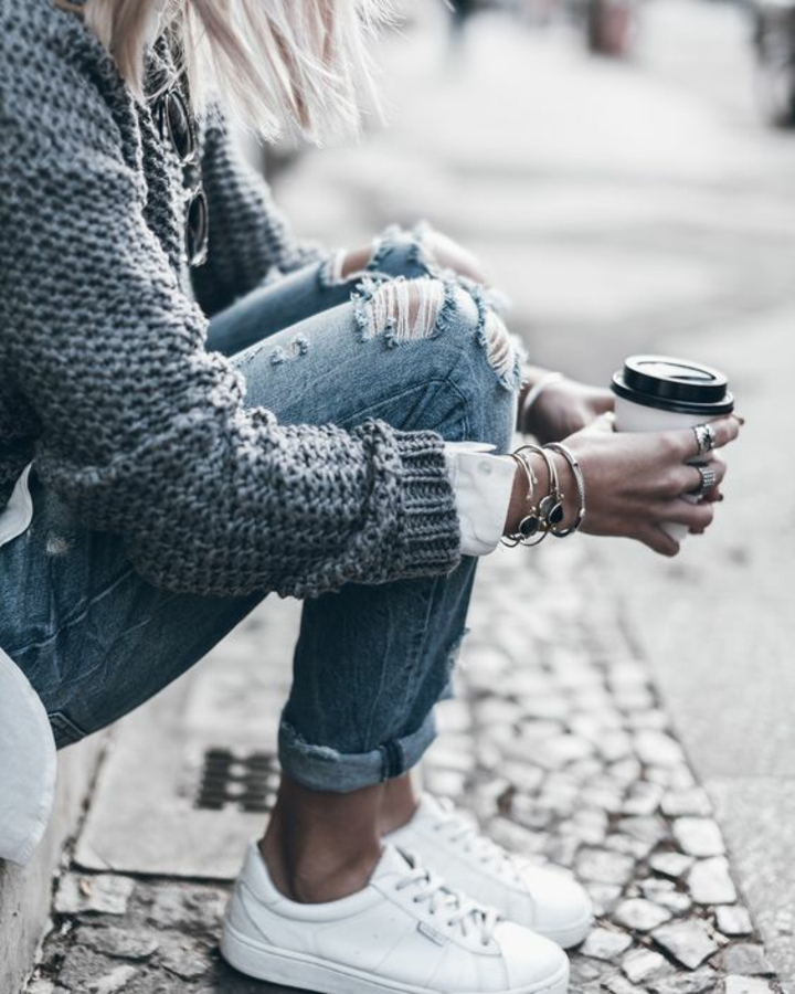 Damenpullover aktuelle Modetrends 2016 Streetstyle Mode
