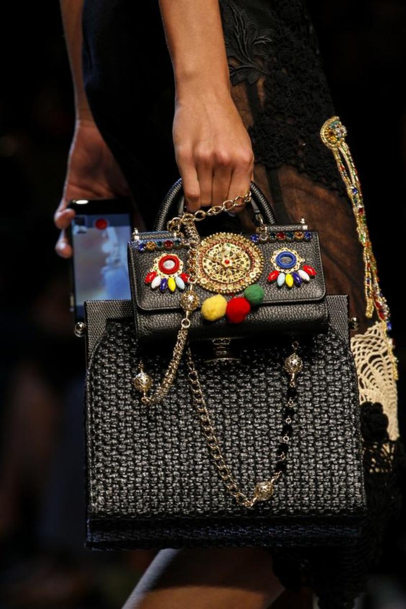 Designer Handtaschen Dolce&Gabbana Luxus Designertaschen Trends 2016