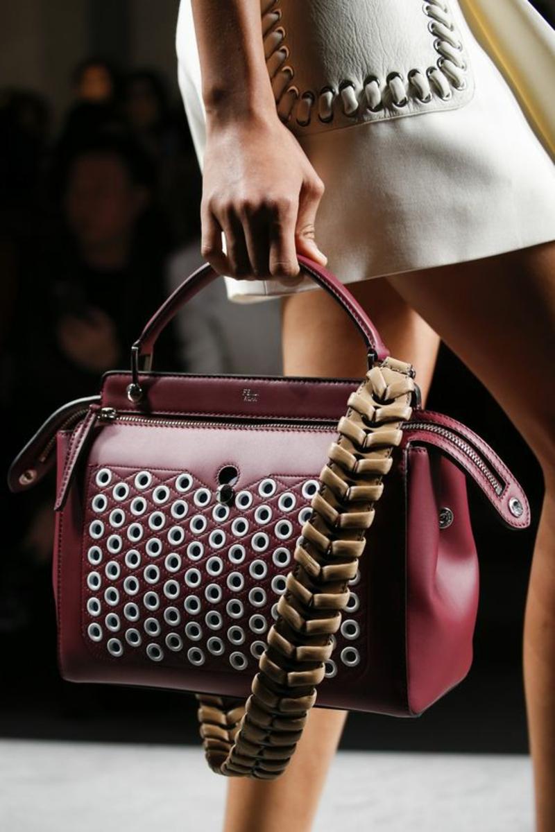 Designer Handtaschen Fendi Designertaschen aktuelle Modetrends 2016
