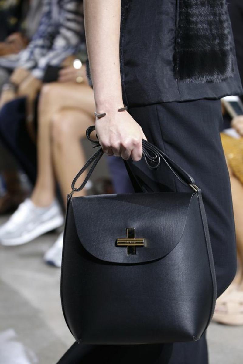 Designer Handtaschen Jason Wu Handtasche Damen schwarz klein