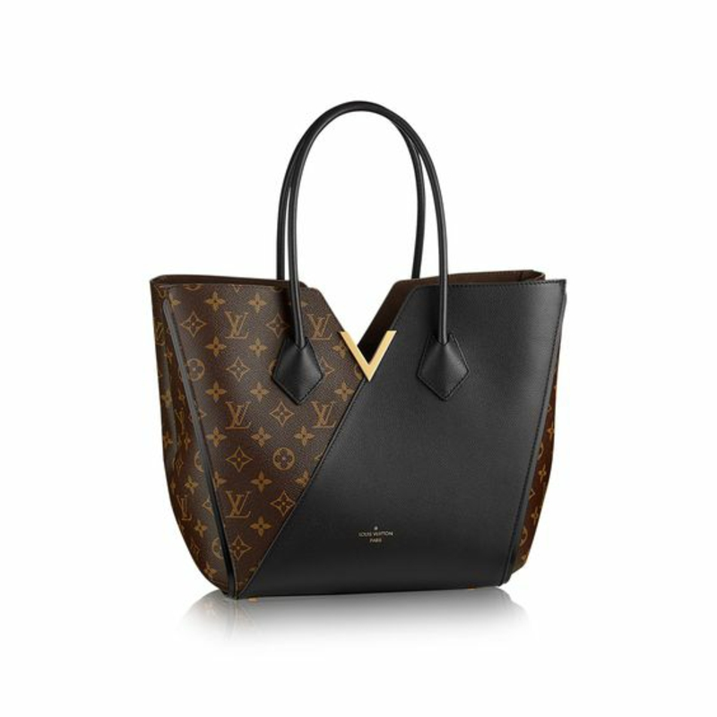 Designer Handtaschen Louis Vuitton Markentaschen schwarz