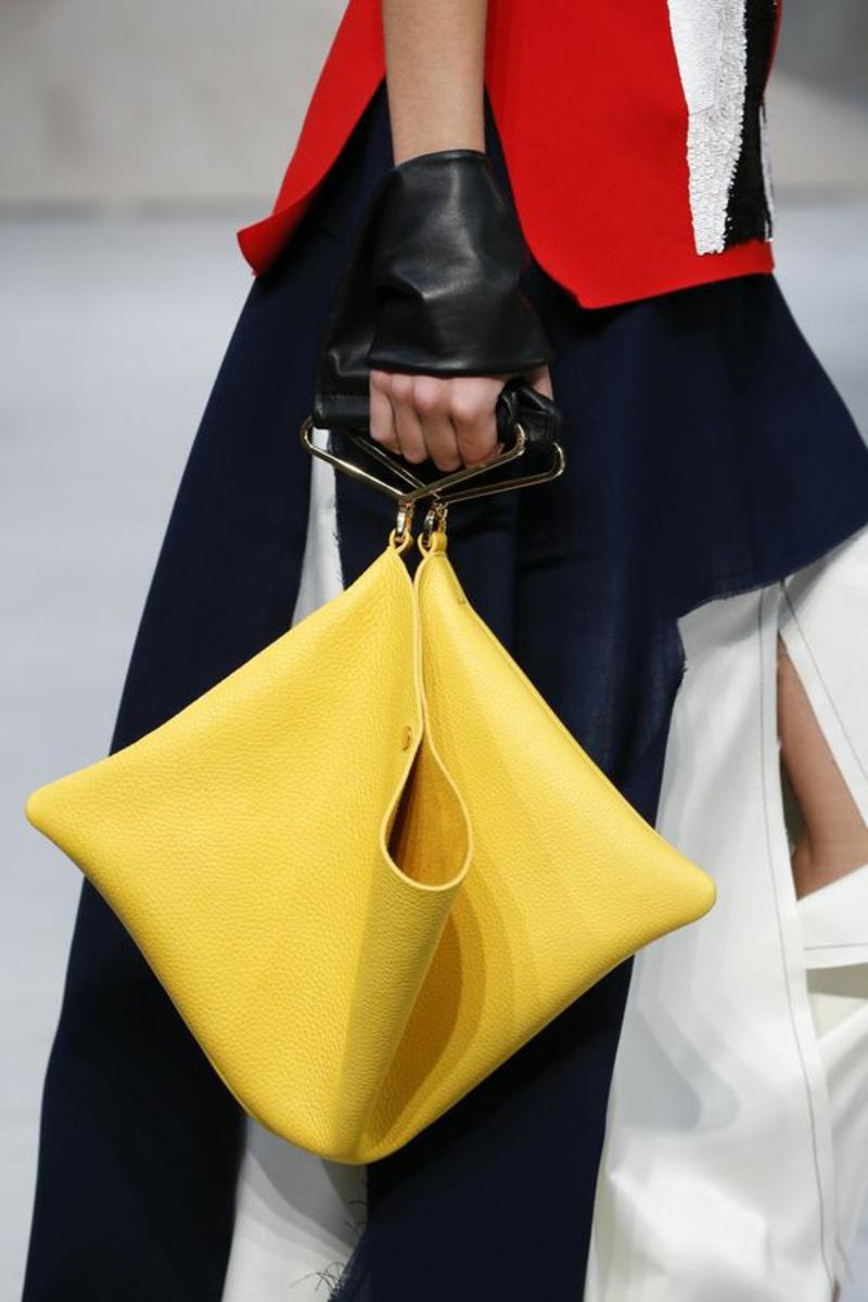Designer Handtaschen Marni Tasche gelb Designermode Modetrends 2016