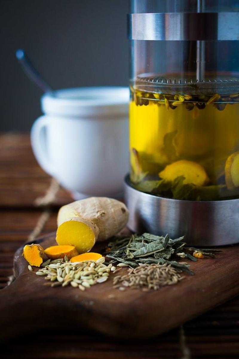 Detox Kur zu Hause Ingwer Detox Tee Wirkung