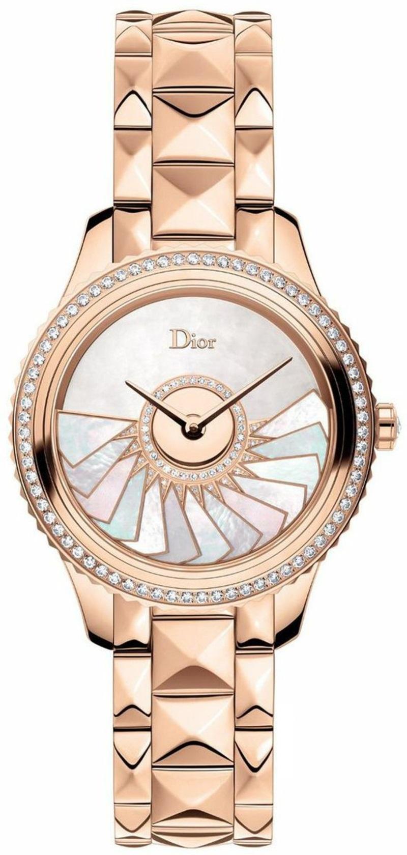 Dior Damenuhr rosegold Armbanduhr Damen