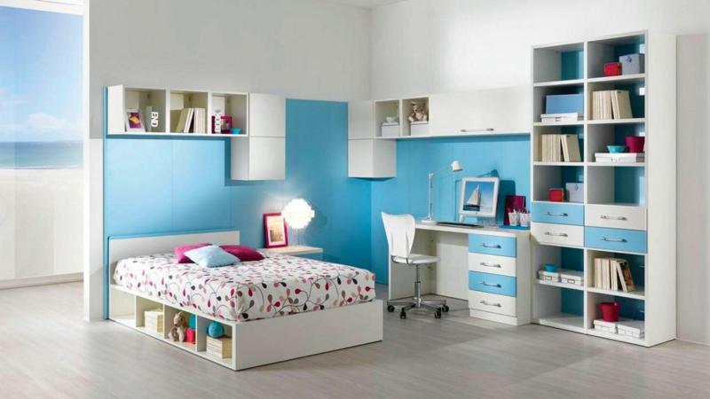 Kinderzimmer junge auto blau  Kinderzimmer Junge: 50 Kinderzimmergestaltung Ideen für Jungs